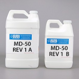 MD-50 REV 1 A/B 50 SHORE D POLYURETHANE ELASTOMER