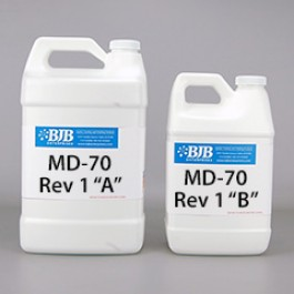 MD-70 REV 1 A/B 70 SHORE D POLYURETHANE ELASTOMER