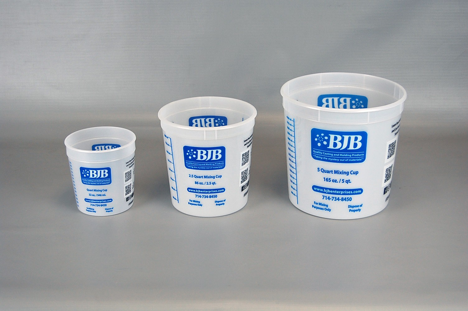 Mixing Containers - 5 quart size