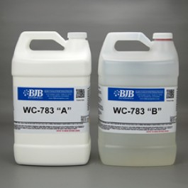 WC-783 A/B WATER CLEAR RIGID 82 SHORE D POLYURETHANE CASTING SYS