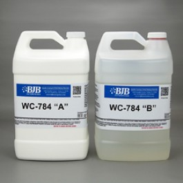 WC-784 A/B WATER CLEAR RIGID 82 SHORE D URETHANE CASTING SYSTEM