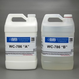 WC-786 A/B WATER CLEAR RIGID 80 SHORE D URETHANE CASTING SYSTEM